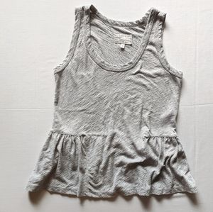 Current/Elliott Sleeveless Girlie Tee Heather Grey